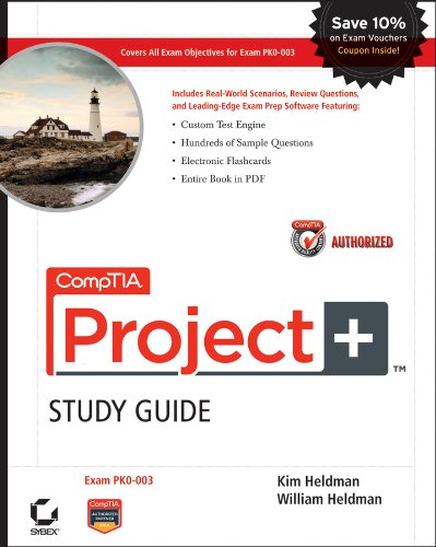 9780470585924: CompTIA Project+ Study Guide Authorized Courseware: Exam PK0-003