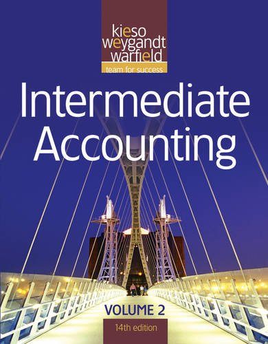 9780470587294: Intermediate Accounting, Vol. 2, 14th Edition (Volume 2)