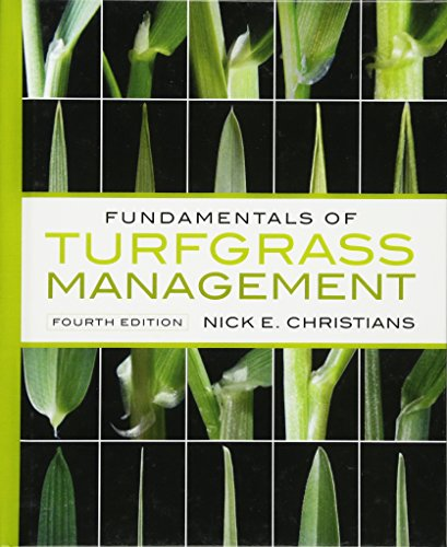 Fundamentals of Turfgrass Management: Nick E. Christians