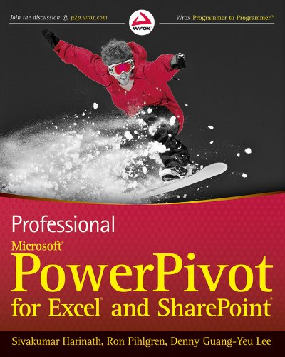 9780470587379: Professional Microsoft PowerPivot for Excel and Sharepoint