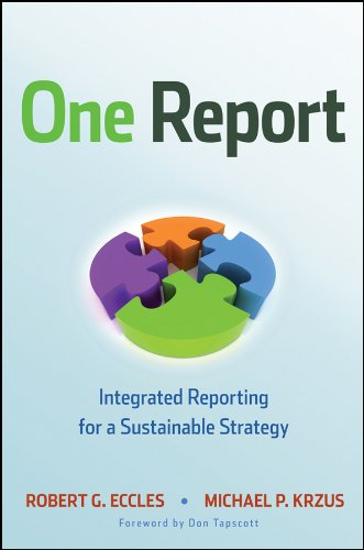 9780470587515: One Report: Integrated Reporting for a Sustainable Strategy