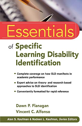 9780470587607: Essentials of Specific Learning Disability Identification
