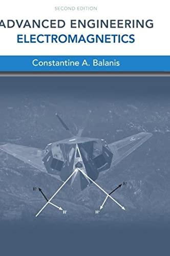 9780470589489: Advanced Engineering Electromagnetics (Coursesmart)