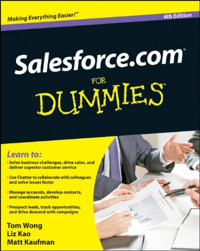 9780470590713: Salesforce.com for Dummies