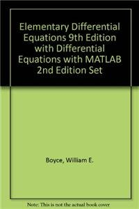 9780470590775: Elementary Differential Equations 9th Edition with Differential Equations with MATLAB 2nd Edition Set