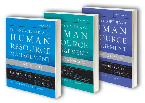 9780470591345: The Encyclopedia of Human Resource Management, 3 Volume Set