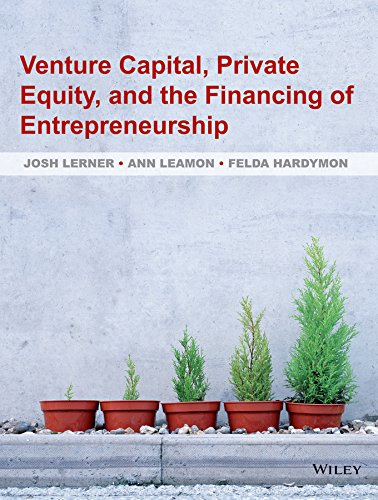 9780470591437: Venture Capital, Private Equity, and the Financing of Entrepreneurship:: The Power of Active Investing