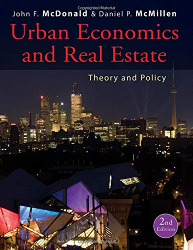 9780470591482: Urban Economics and Real Estate: Theory and Policy
