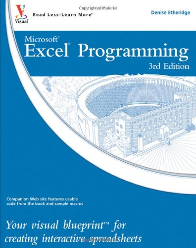 9780470591598: Excel Programming: Your visual blueprint for creating interactive spreadsheets