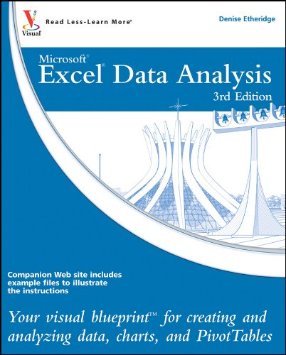 9780470591604: Excel Data Analysis: Your visual blueprint for creating and analyzing data, charts and PivotTables