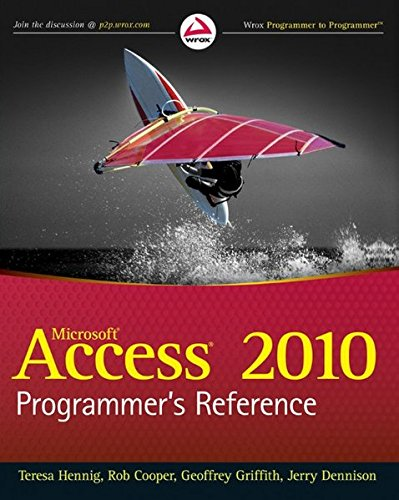 9780470591666: Access 2010 Programmer's Reference (Wrox Programmer to Programmer)