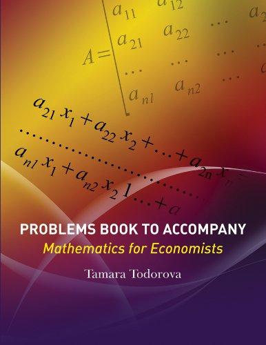 9780470591819: Problems Book to accompany Mathematics for Economists
