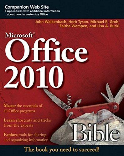 9780470591857: Microsoft Office 2010 Bible