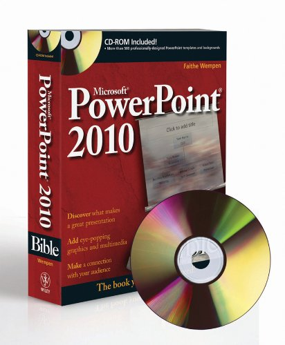 PowerPoint 2010 Bible. W/CD