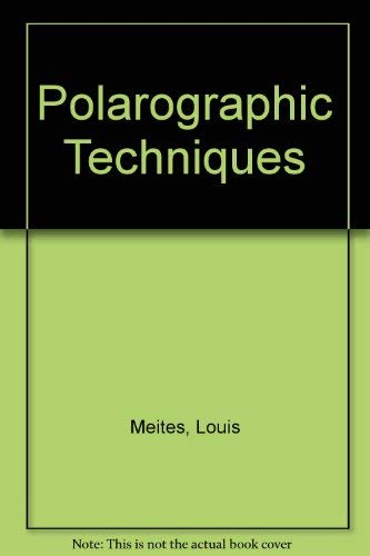 9780470592052: Polarographic Techniques