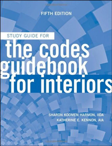 9780470592106: The Codes Guidebook for Interiors, Study Guide