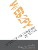 9780470592359: Web2py Enterprise Web Framework, 2nd Ed