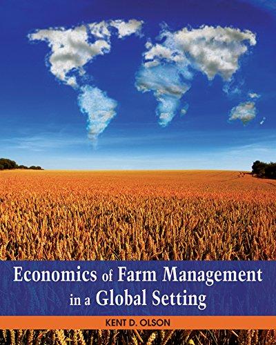 9780470592434: Economics of Farm Management in a Global Setting