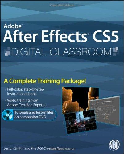 9780470595244: Adobe After Effects CS5 Digital Classroom