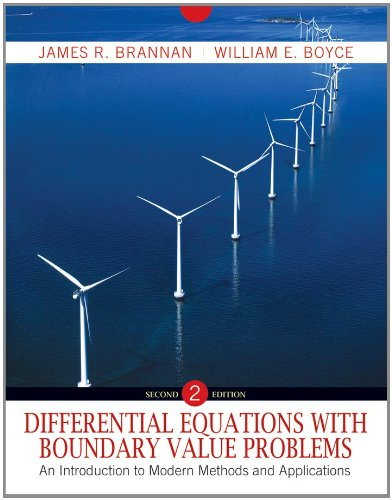 9780470595350: Differential Equations with Boundary Value Problems: An Introduction to Modern Methods and Applications