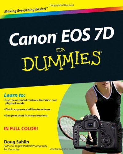 9780470595916: Canon EOS 7D for Dummies