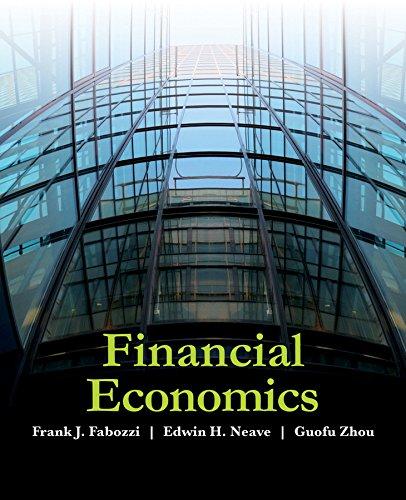 Financial Economics: Frank J. Fabozzi,