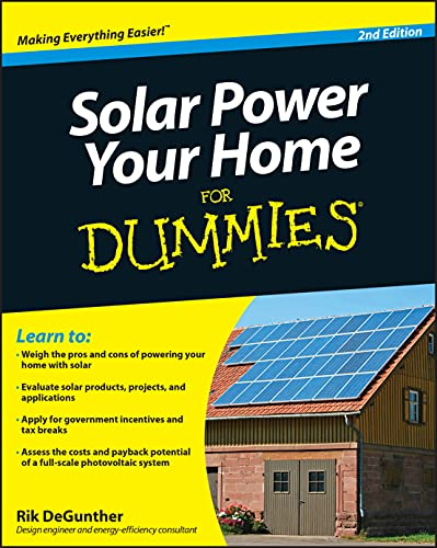 9780470596784: Solar Power Your Home For Dummies