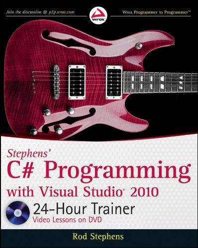 9780470596906: Stephens' C# Programming with Visual Studio 2010 24-Hour Trainer