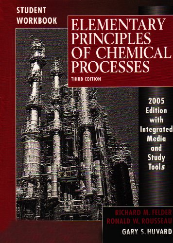 9780470597842: Elementary Principles of Chemical Processes