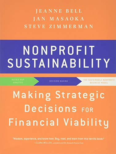 9780470598290: Nonprofit Sustainability: Making Strategic Decisions for Financial Viability