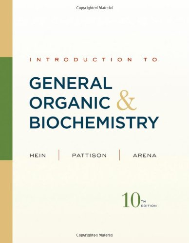 9780470598801: Introduction to General, Organic, and Biochemistry 10th edition