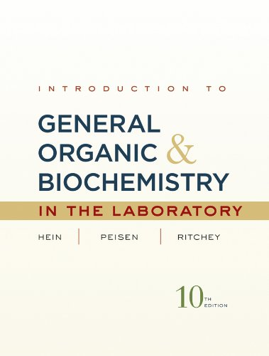 Introduction to General, Organic, and Biochemistry in: Ritchey, James M.,Peisen,
