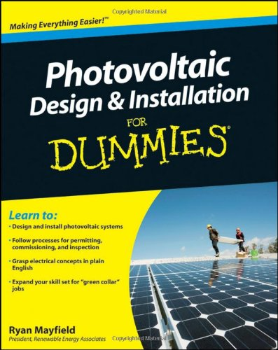 9780470598931: Photovoltaic Design & Installation for Dummies