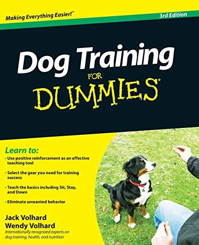 9780470600290: Dog Training For Dummies