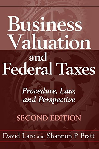 9780470601624: Business Valuation and Federal Taxes: Procedure, Law and Perspective