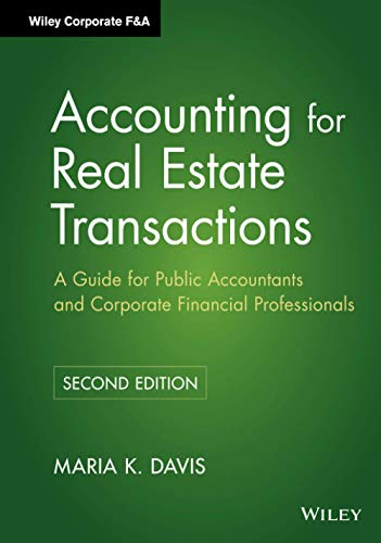9780470603383: Accounting for Real Estate Transactions: A Guide For Public Accountants and Corporate Financial Professionals