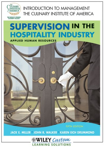 9780470604212: Supervision in the Hospitality Industry (Applied Human Resources)