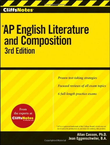 9780470607572: cliffsnotes ap english literature and composition.