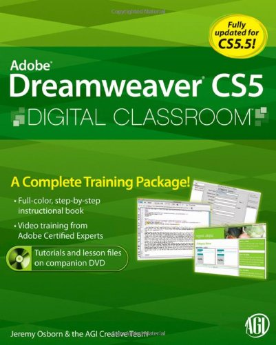 9780470607749: Adobe Dreamweaver CS5 Digital Classroom