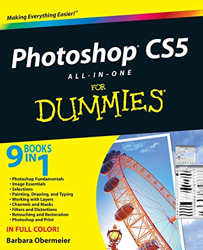9780470608210: Photoshop CS5 All-in-One For Dummies