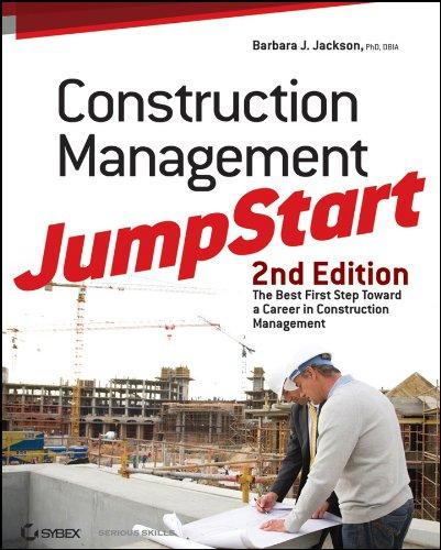 9780470609996: Construction Management JumpStart: The Best First Step Toward a Career in Construction Management