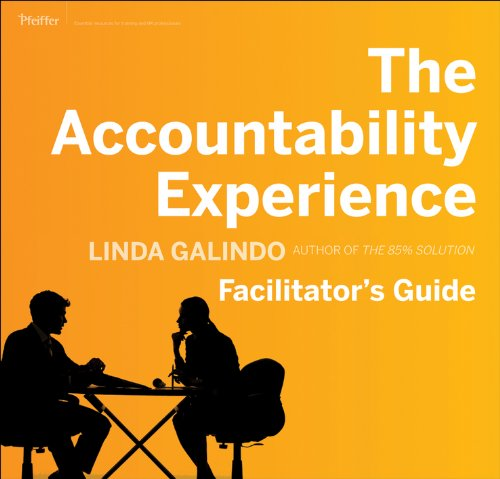 9780470610220: The Accountability Experience Deluxe Facilitator's Guide Set