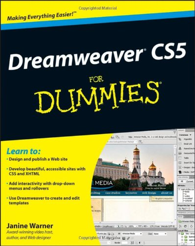 9780470610763: Dreamweaver CS5 For Dummies