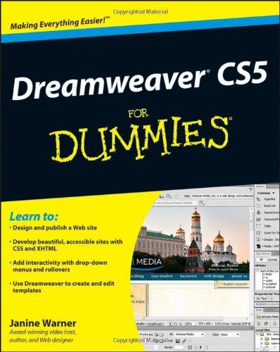 9780470610763: Dreamweaver CS5 For Dummies (For Dummies Series)