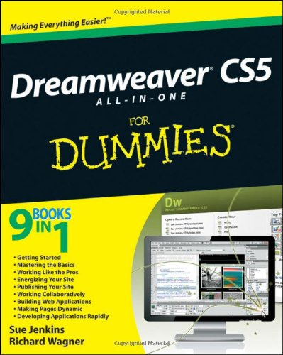 9780470610770: Dreamweaver CS5 All-in-one For Dummies (For Dummies Series)