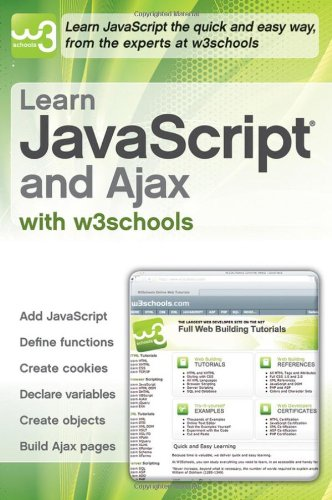 9780470611944: Learn JavaScript and Ajax with w3schools
