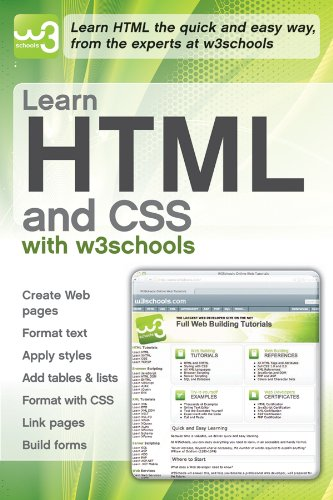 9780470611951: Learn HTML and CSS with W3Schools