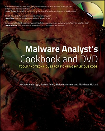9780470613030: Malware Analyst's Cookbook and DVD: Tools and Techniques for Fighting Malicious Code