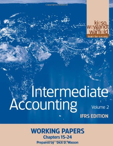 15 24 accounting chapter intermediate papers working Chapter 24 - answerpdf - free download as pdf file (pdf), text file (txt) or read online for free.