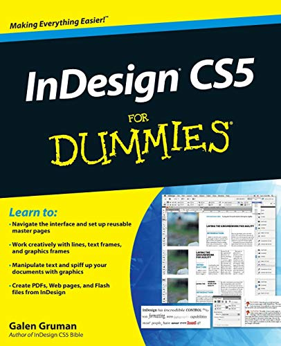 9780470614495: InDesign® CS5 For Dummies®